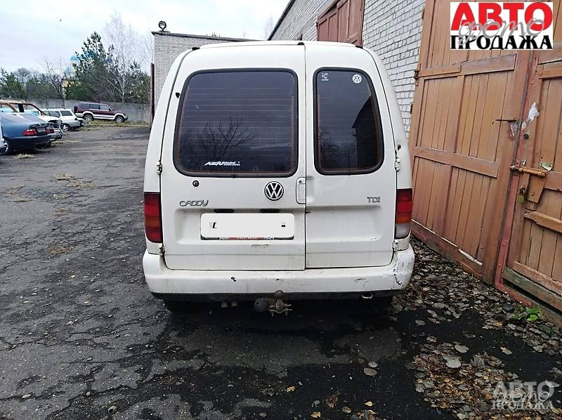 Volkswagen Caddy груз. Кабина 1999 г.в