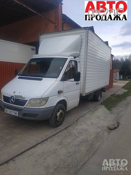 Mercedes-Benz Sprinter 413 груз. Кабина 2007 г.в