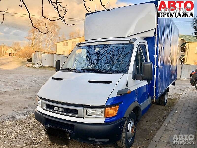 Iveco Daily груз. Кабина 2001 г.в