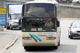 За направлення в рейс одного водія при здійсненні пасажирських перевезень на автобусний маршрут протяжністю понад 500 км ліцензійна картка може бути тимчасово вилучена