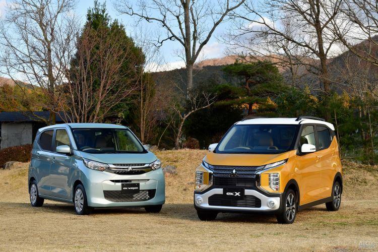 Mitsubishi ek: смена поколений
