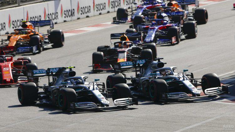 Формула-1: триумф Боттаса в Гран-при Азербайджана