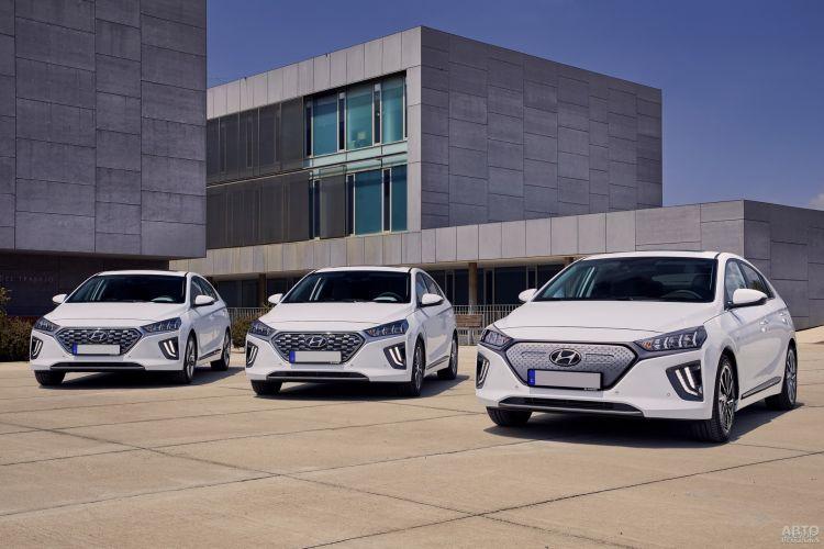 Hyundai Ioniq: обновление