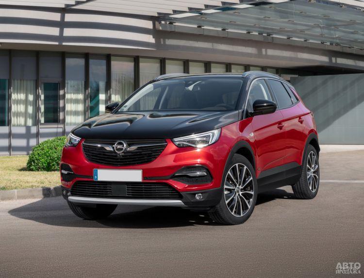 Opel Grandland X Hybrid4: гибридный флагман