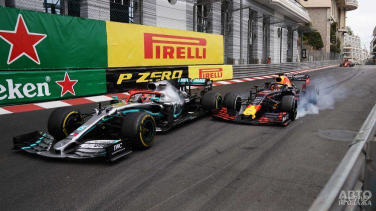 Формула-1: сложная победа Хэмилтона в Гран-при Монако