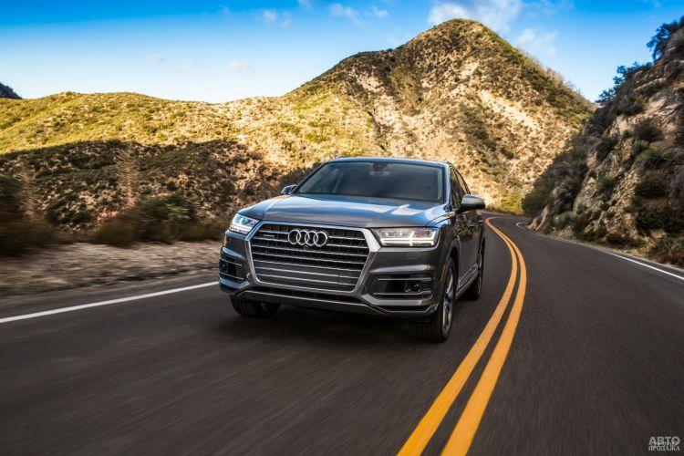 Audi Q7, BMW X7 и Mercedes-Benz GLS: большие и роскошные