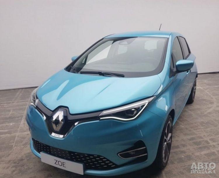 Новый Renault Zoe полностью рассекречен