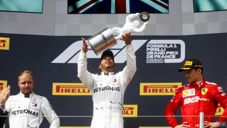 Формула-1: Хэмилтон продолжил победную серию во Франции