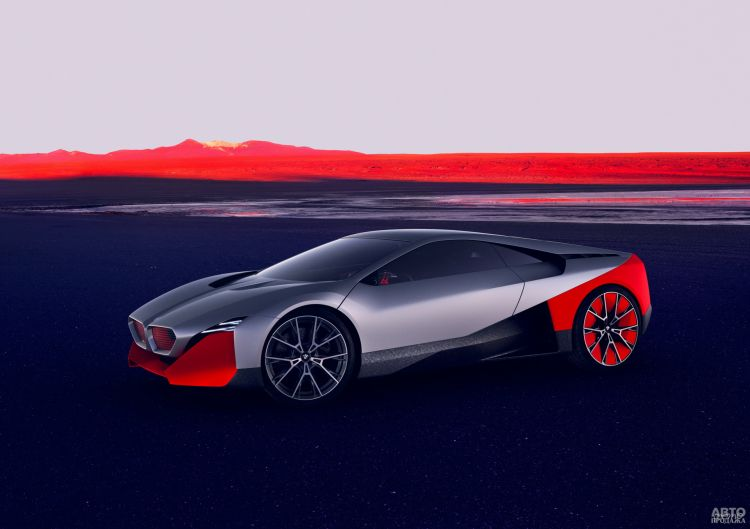 BMW Vision M Next: предвестник гибридного спорткупе
