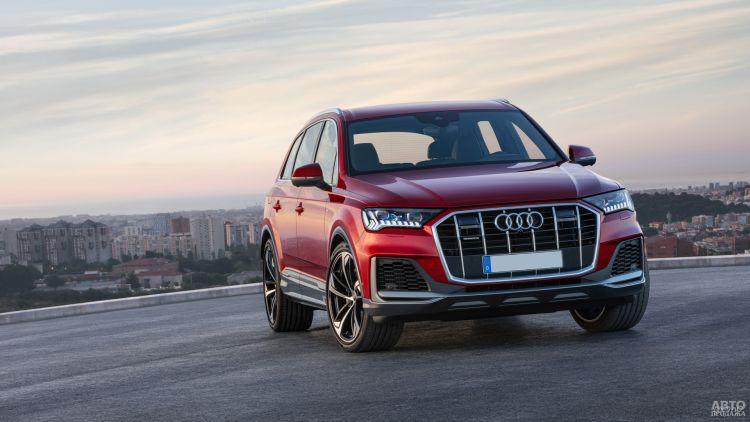 Audi Q7: модернизация
