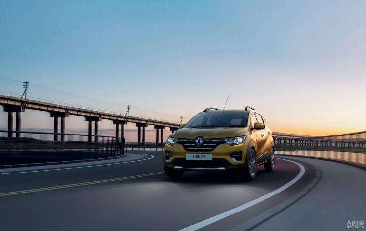 Renault Triber: бюджетная пропозиция