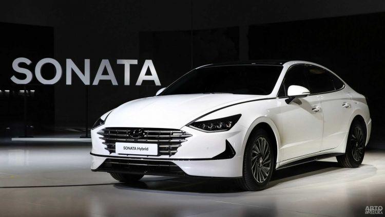 Hyundai Sonata стал гибридом