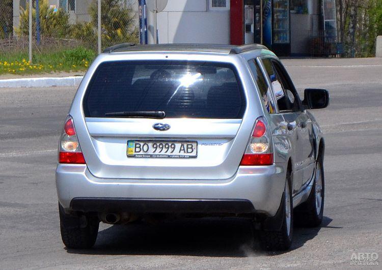В Украине ввели новые расценки на красивые номера авто
