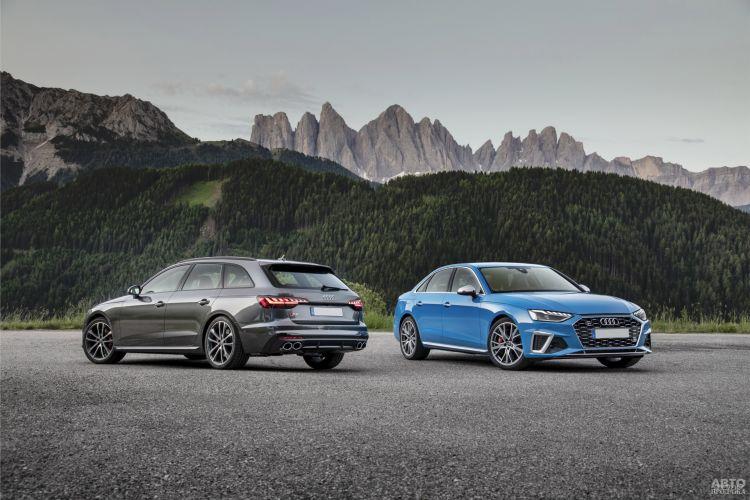 Audi A4: новое «лицо»
