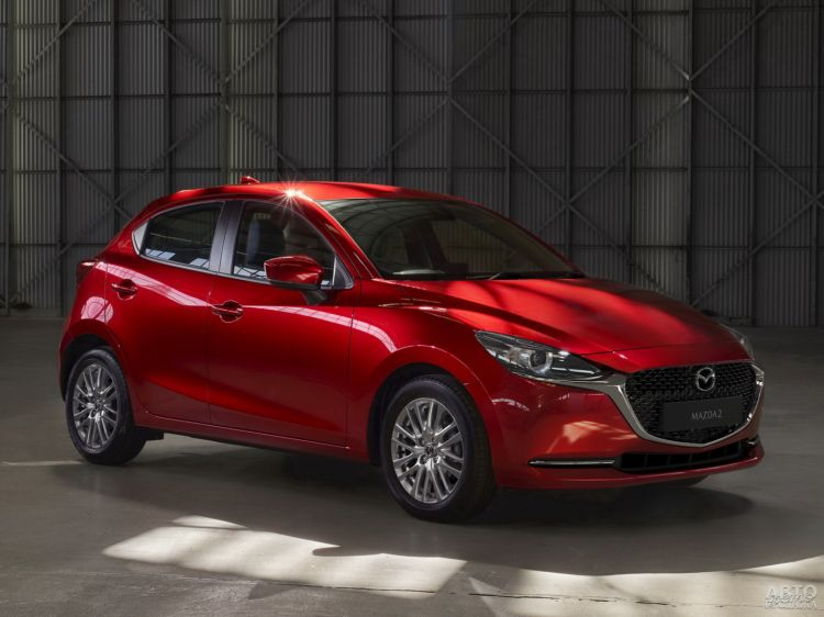 Mazda 2: модернизация