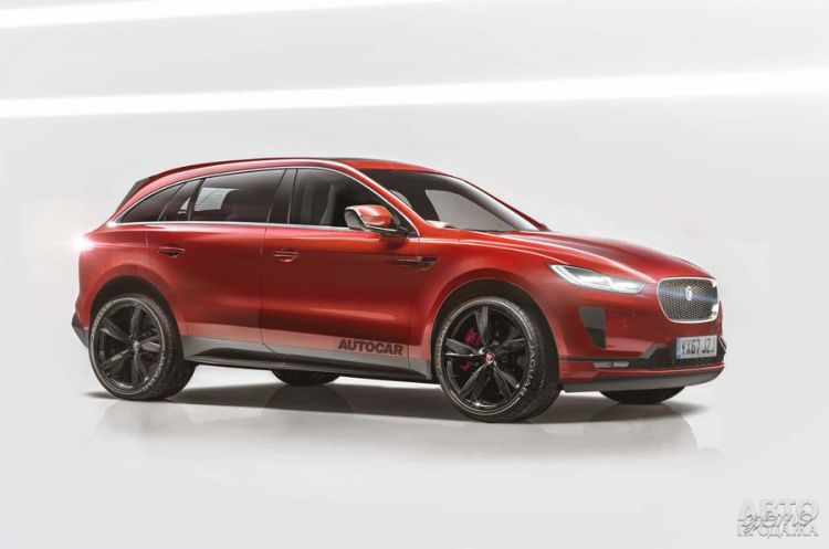 Jaguar представит большой вседорожник