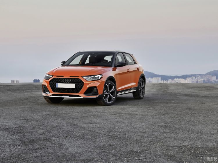 Audi A1 Citycarver: пополнение в «семействе»