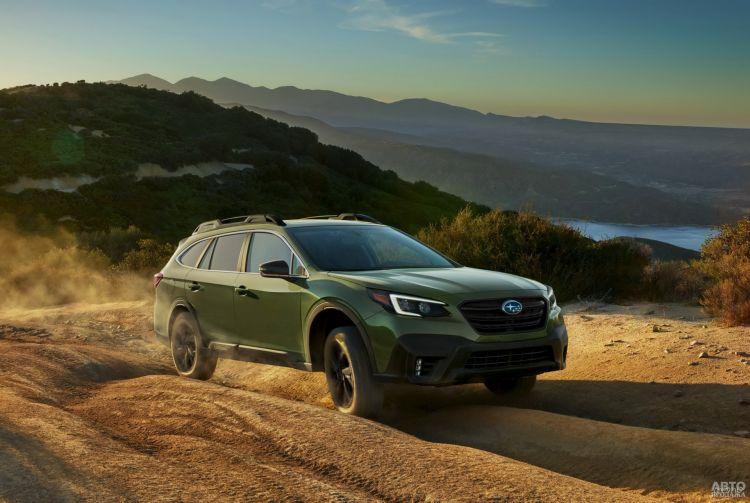 Subaru Outback: универсал для бездорожья
