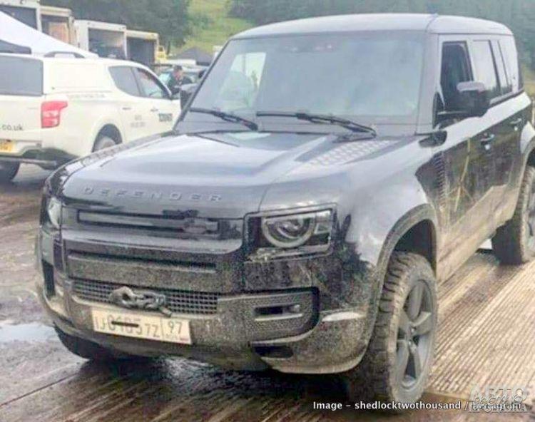 Первые фото Land Rover Defender нового поколения