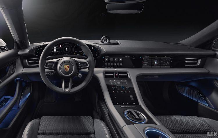 Рассекречен салон первого электромобиля Porsche