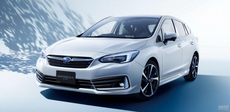 Subaru Impreza: обновление