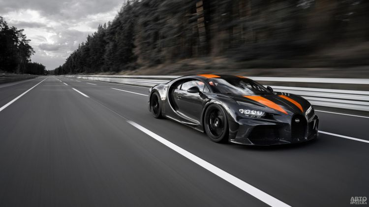 Bugatti Chiron установил новый мировой рекорд скорости