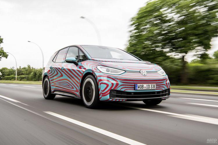 Первые фото нового электромобиля Volkswagen I.D.3