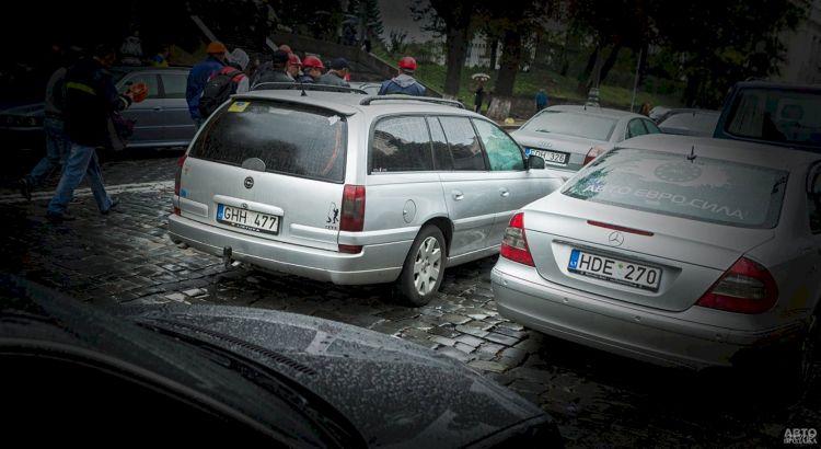 Верховная Рада снова отстрочила штрафы за авто на еврономерах