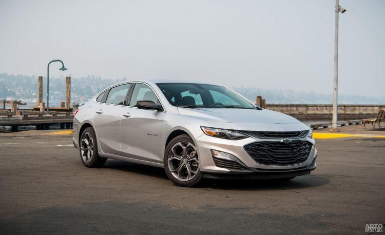 Chevrolet Malibu: седан по-американски