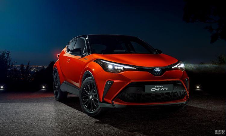 Toyota C-HR прошла легкое обновление