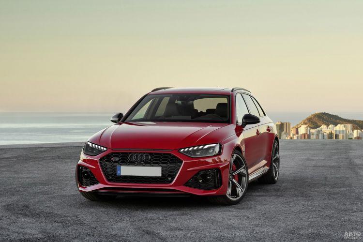Audi RS4 Avant: освежение