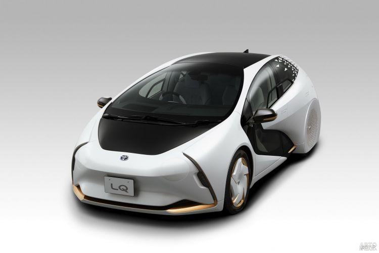 Toyota LQ: предвестник будущего электромобиля