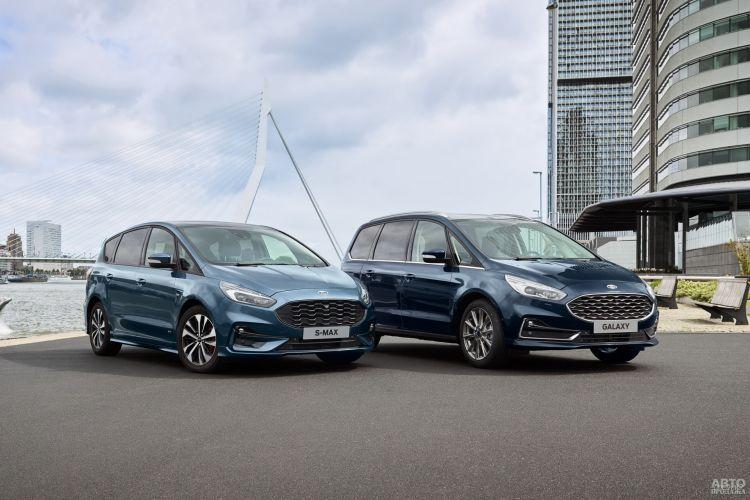 Ford S-Max: обновление
