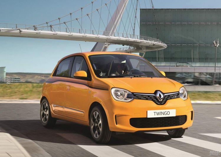 Новый Renault Twingo станет электромобилем