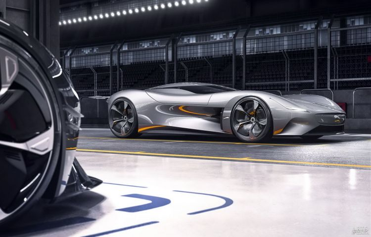 Jaguar Vision Gran Turismo Coupe: виртуальный спортсмен