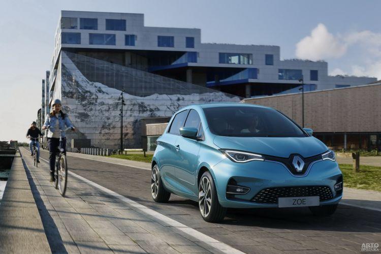 Renault Zoe: перезагрузка