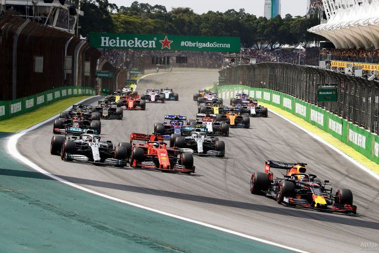 Формула-1: победа Ферстаппена и фиаско Ferrari в Бразилии