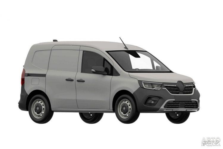 Первые изображения нового Renault Kangoo