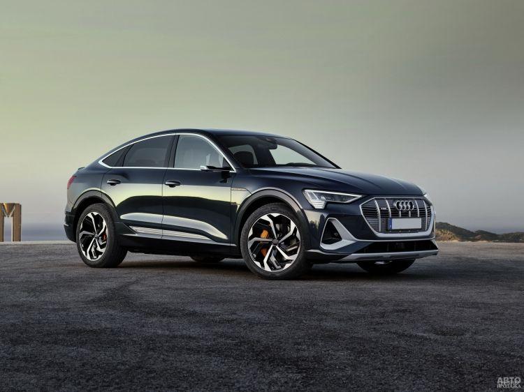 Audi e-tron Sportback: пополнение в электрической линейке