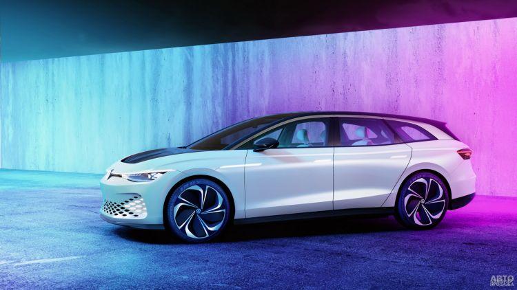 Volkswagen ID. Space Vizzion: предвестник электрического универсала