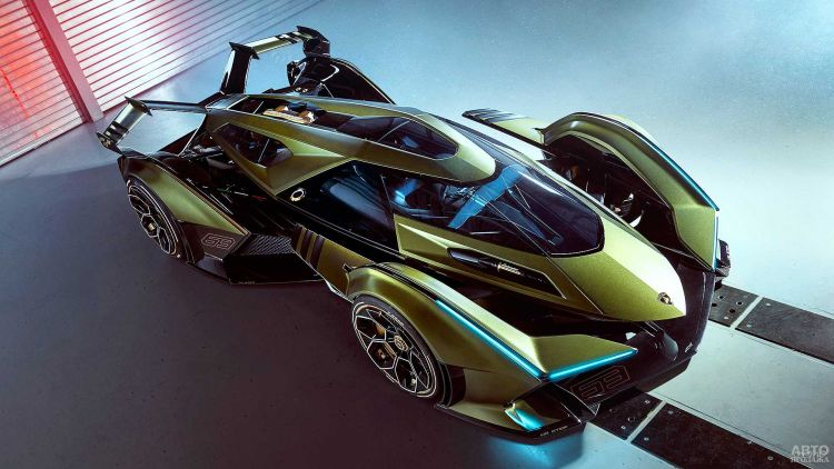 Lamborghini представили виртуальное купе