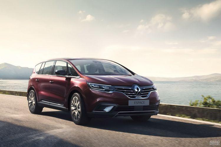 Renault Espace: освежение