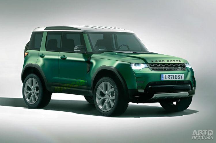 Land Rover готовит самую доступную модель