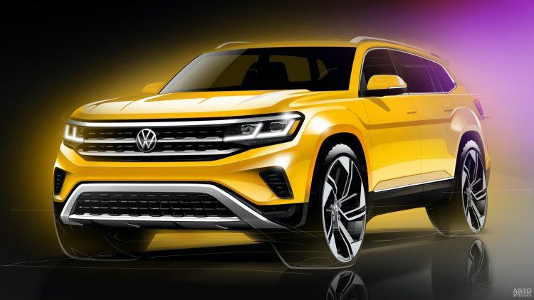 Volkswagen Atlas пройдет обновление