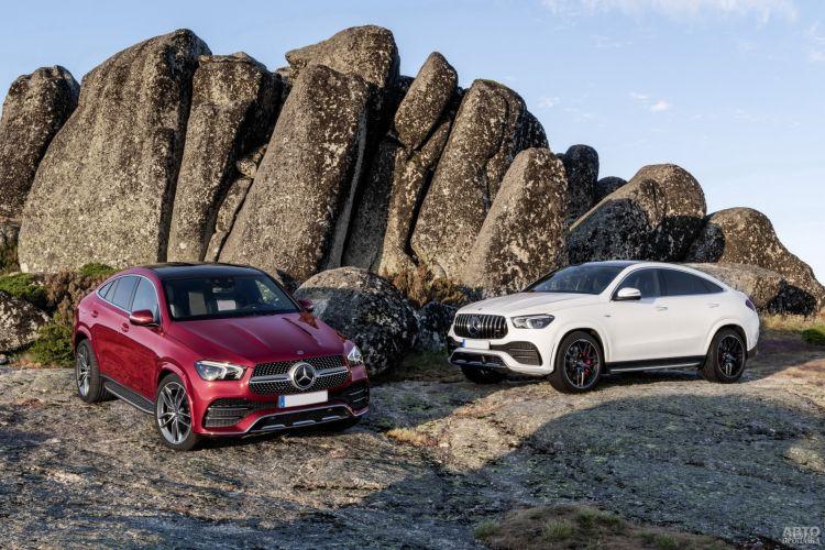 Mercedes-Benz GLE Coupe: смена поколений