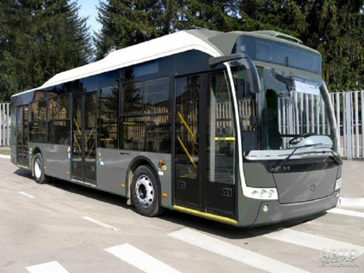 Представлен новый украинский электробус
