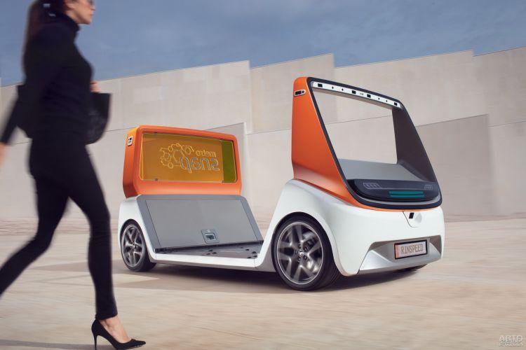 Rinspeed MetroSnap: транспорт для города будущего