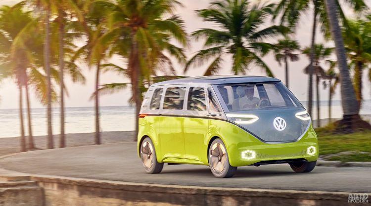 Volkswagen выпустит беспилотники для чемпионата мира по футболу