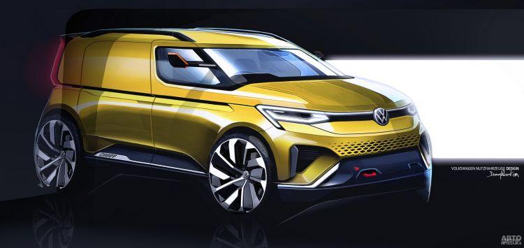 Первые изображения нового Volkswagen Caddy