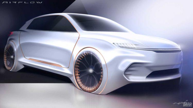 Chrysler готовит концептуальный мини-вэн